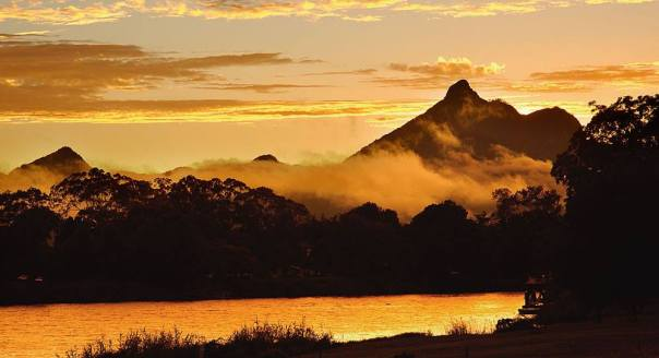 Michele will be walking to the summit of Mount Warning.